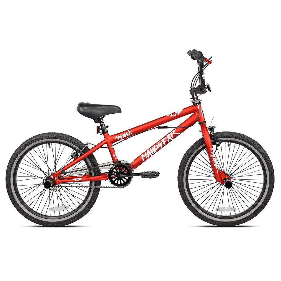 "20"" Boy's MaddGear MG One Freestyle BMX"