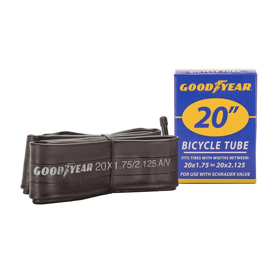 "Goodyear 20"" x 1.75""-2.125"" Bike Tube"