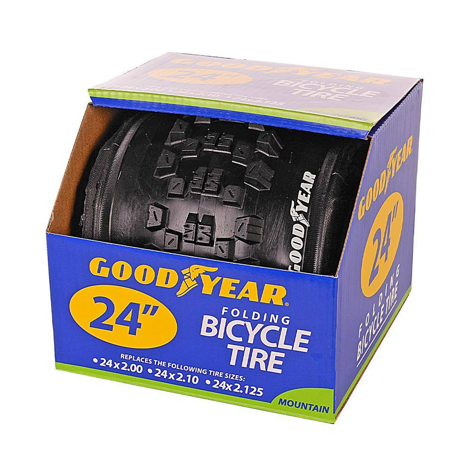 "Goodyear 24"" x 2"" Folding Mountain Bike Tire"
