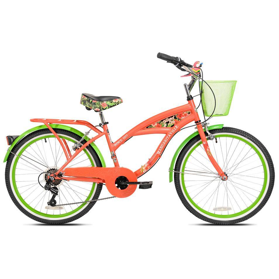 "24"" Girl's Margaritaville Island Life Multi-Speed"
