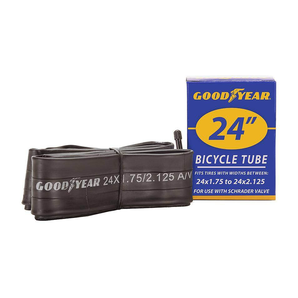 "Goodyear 24"" x 1.75""-2.125"" Bike Tube"