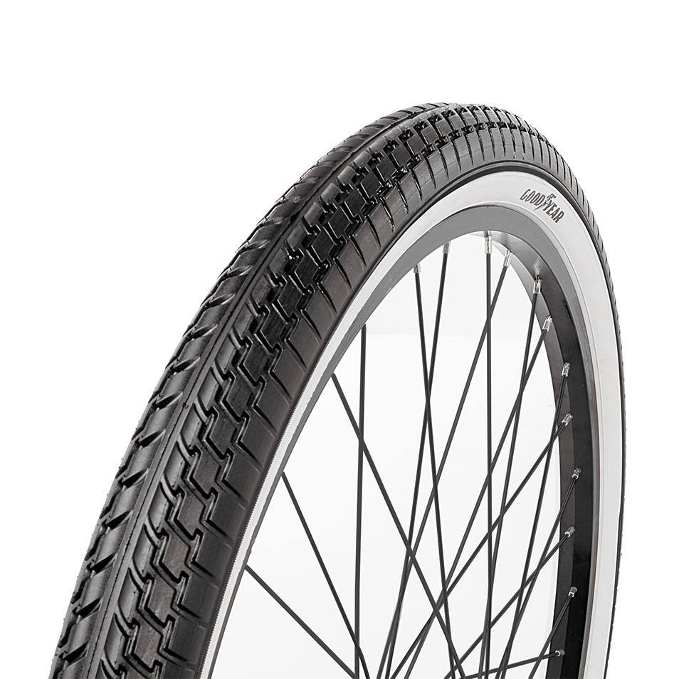 "Goodyear 26"" White Wall Folding Cruiser Bike Tire"