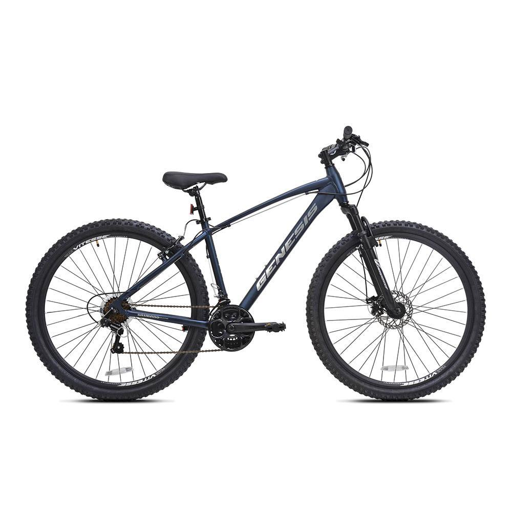 "29"" Men's Genesis Silverton - Matte Navy Blue Mountain Bike"