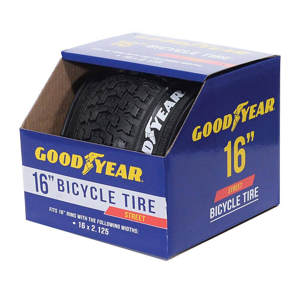 "Goodyear 16"" Bicycle Tire - 16 x 2.125"""
