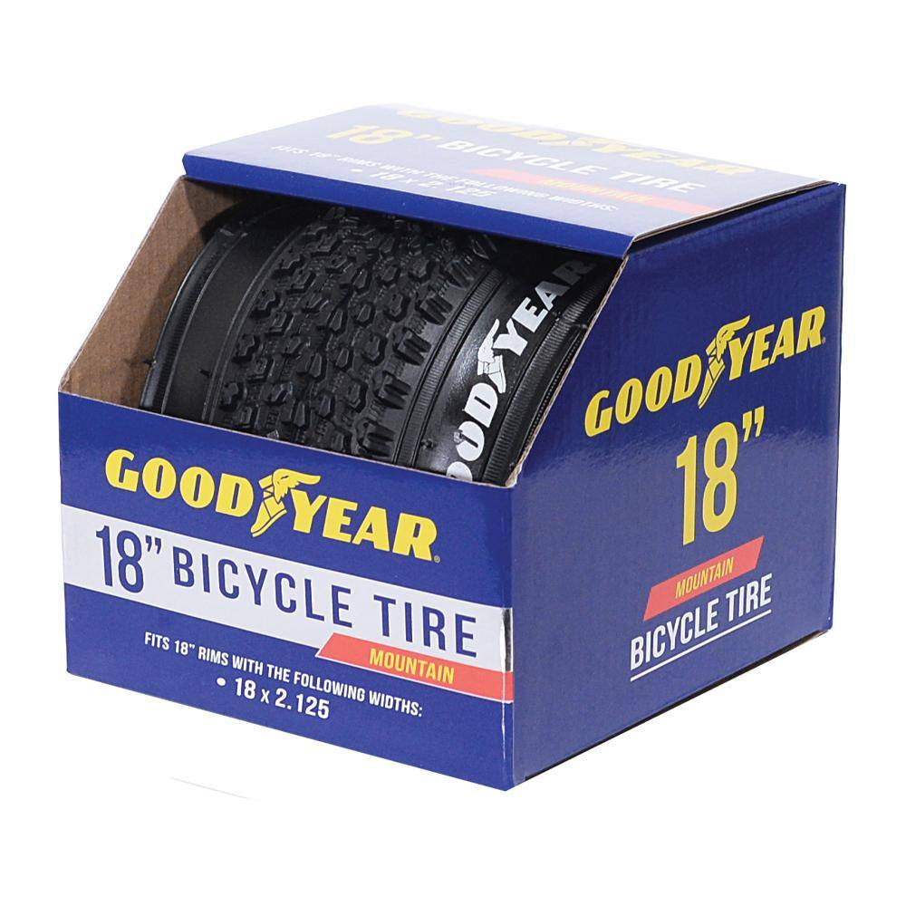 "Goodyear 18"" x 2.125"" Folding Mountain Bike Tire"