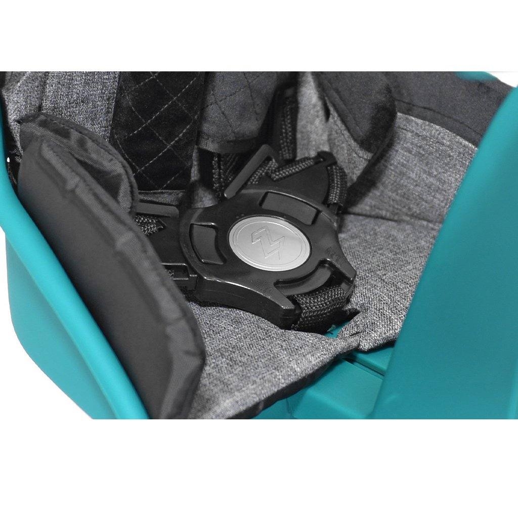 Kazam Wallaby Deluxe Teal Child Bike Seat