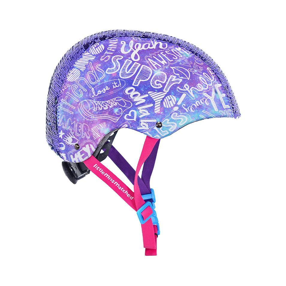 LittleMissMatched Magic Sequin Multi-Sport Youth Helmet