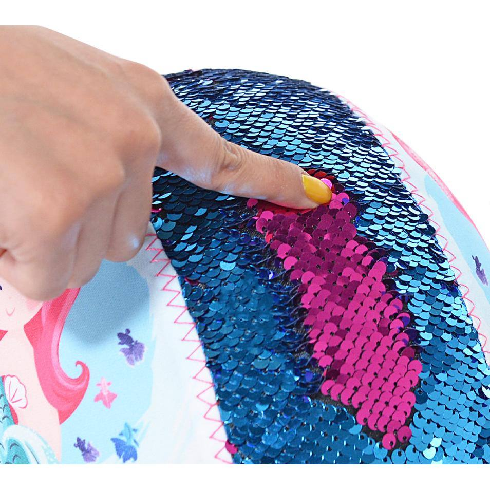 LittleMissMatched Mermaid Sequin Multi-Sport Child's Helmet