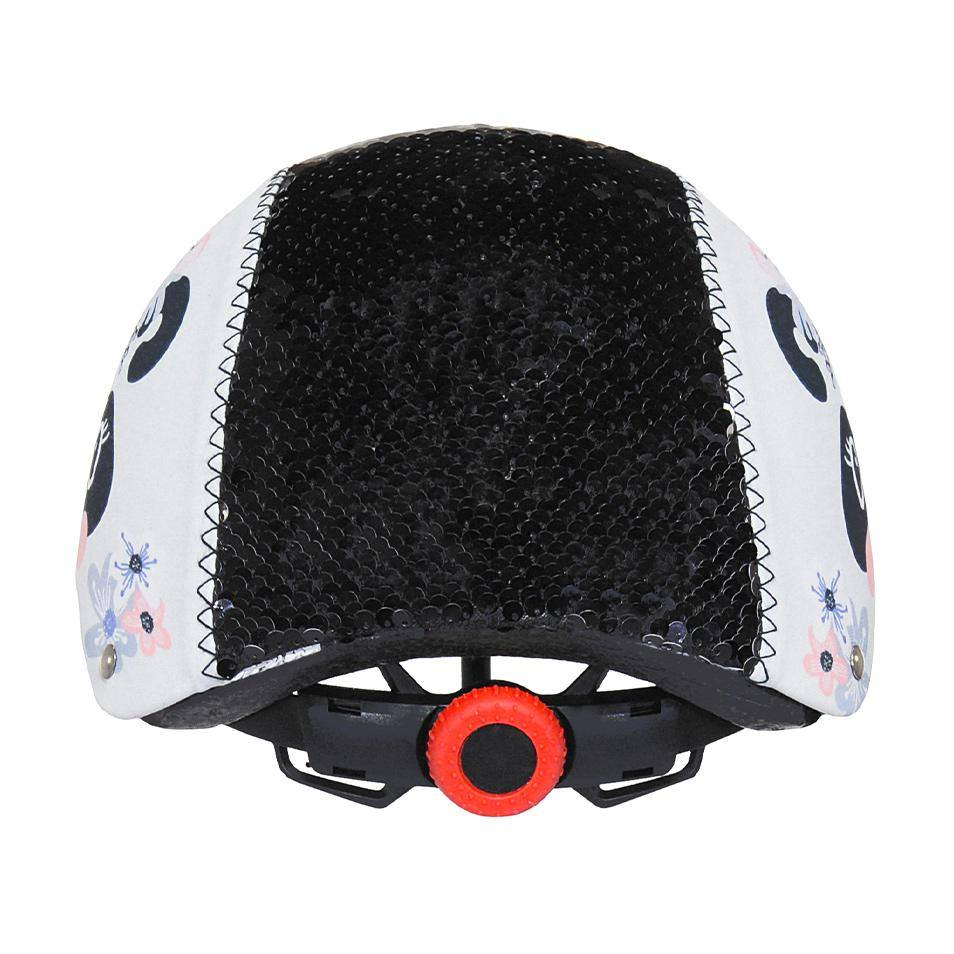 LittleMissMatched Panda Magic Sequin Multi-Sport Child's Helmet