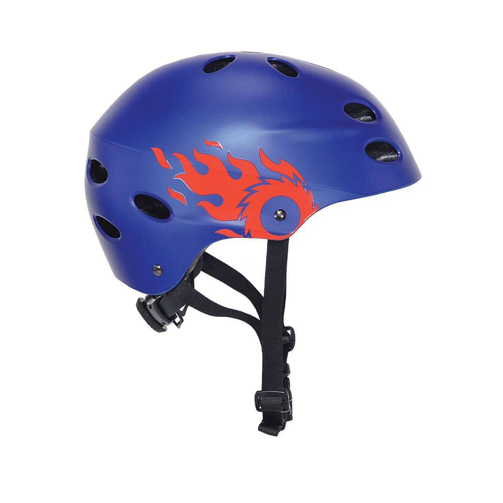 Razor Blue Flame Multi-Sport Youth Helmet
