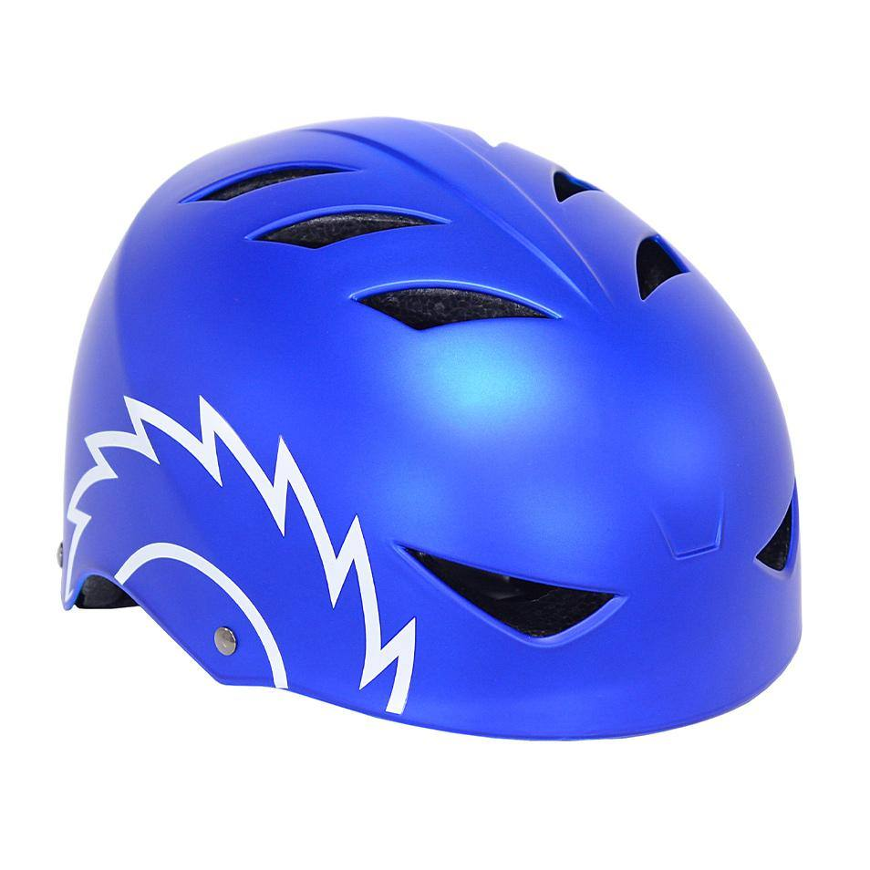 Boy's Razor Satin Blue Youth Helmet