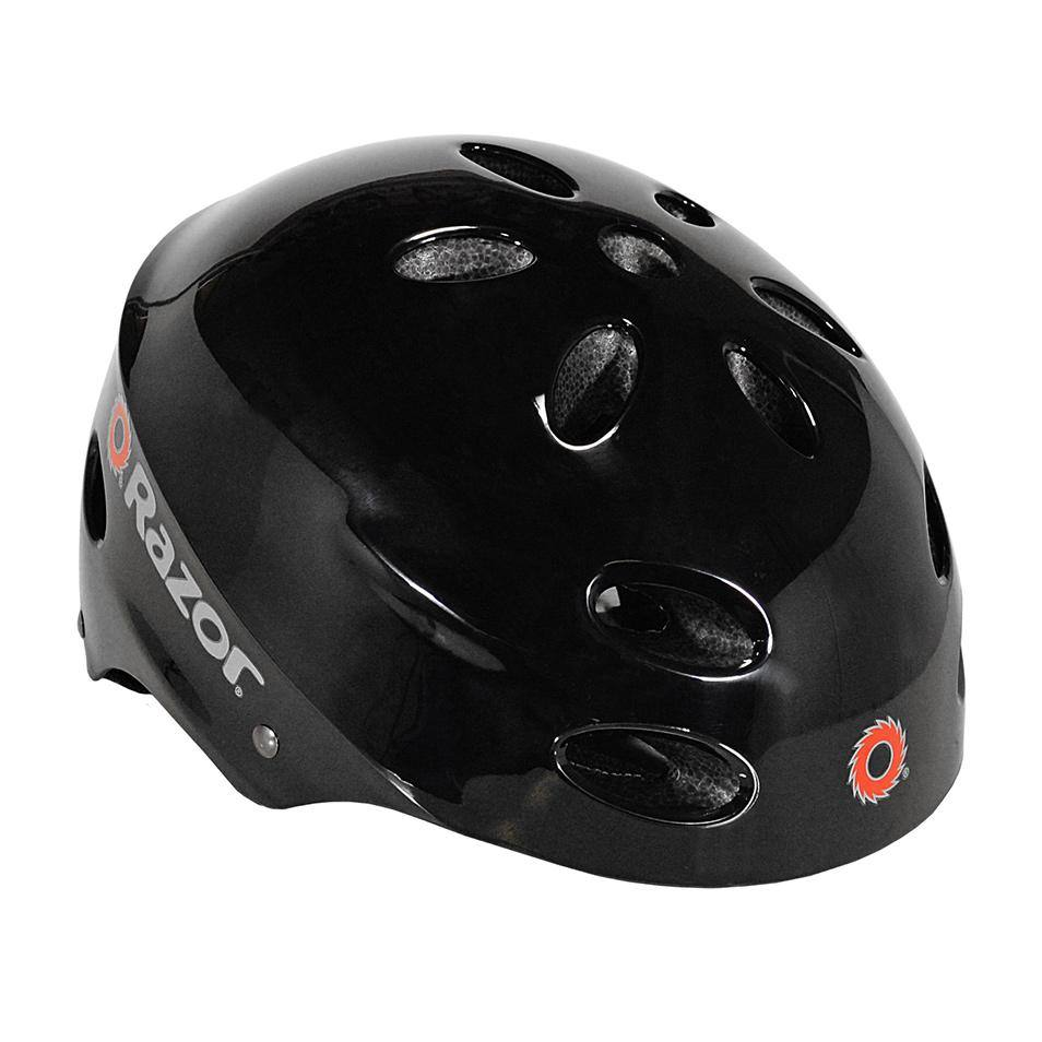 Razor Gloss Black Child & Youth Helmet