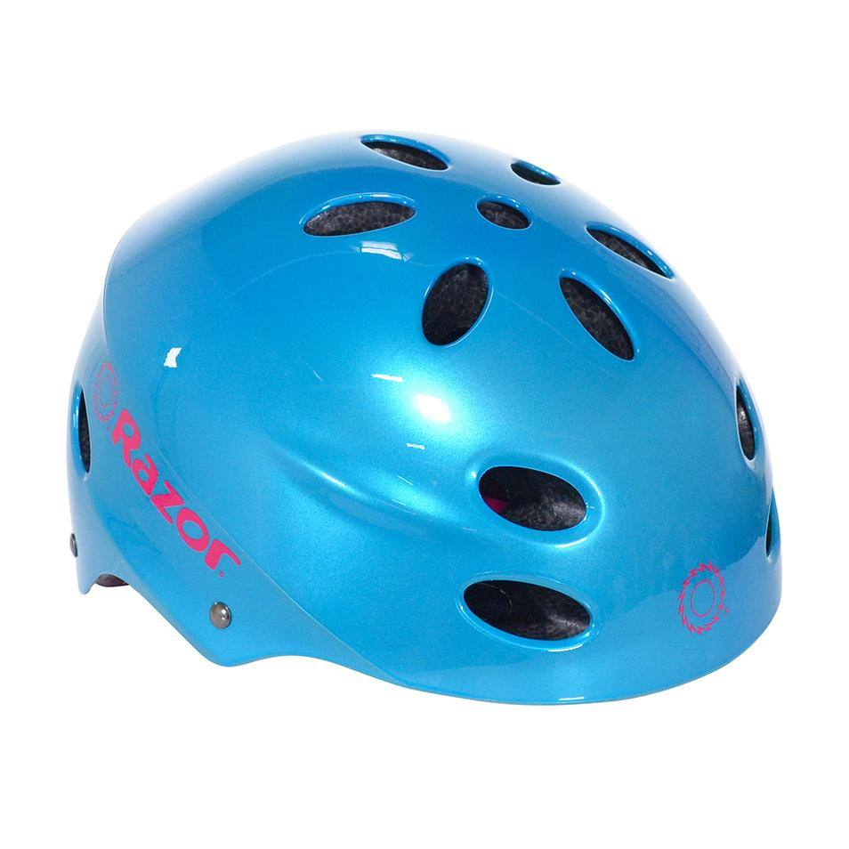 Razor Gloss Cyan Child Helmet