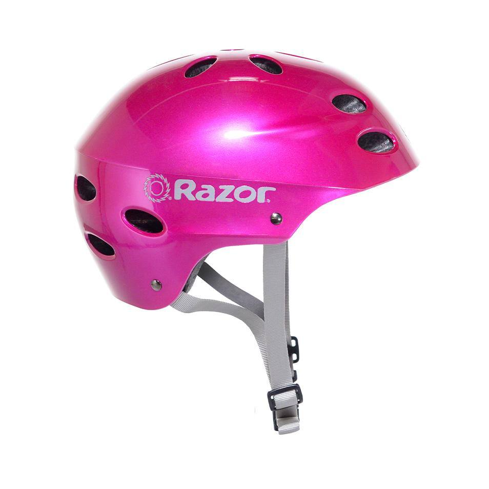Girl's Razor Gloss Magenta Child & Youth Helmet