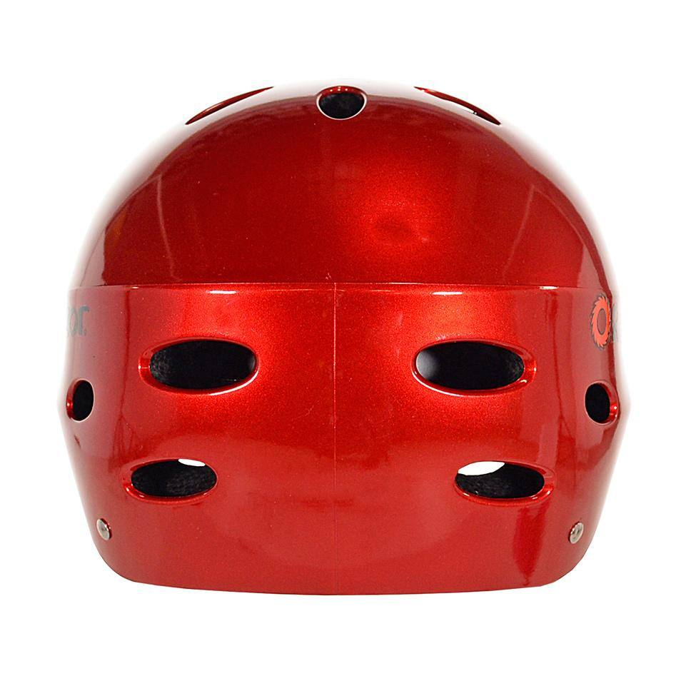 Boy or Girl's Razor V17 Lucid Red Child & Youth Helmet