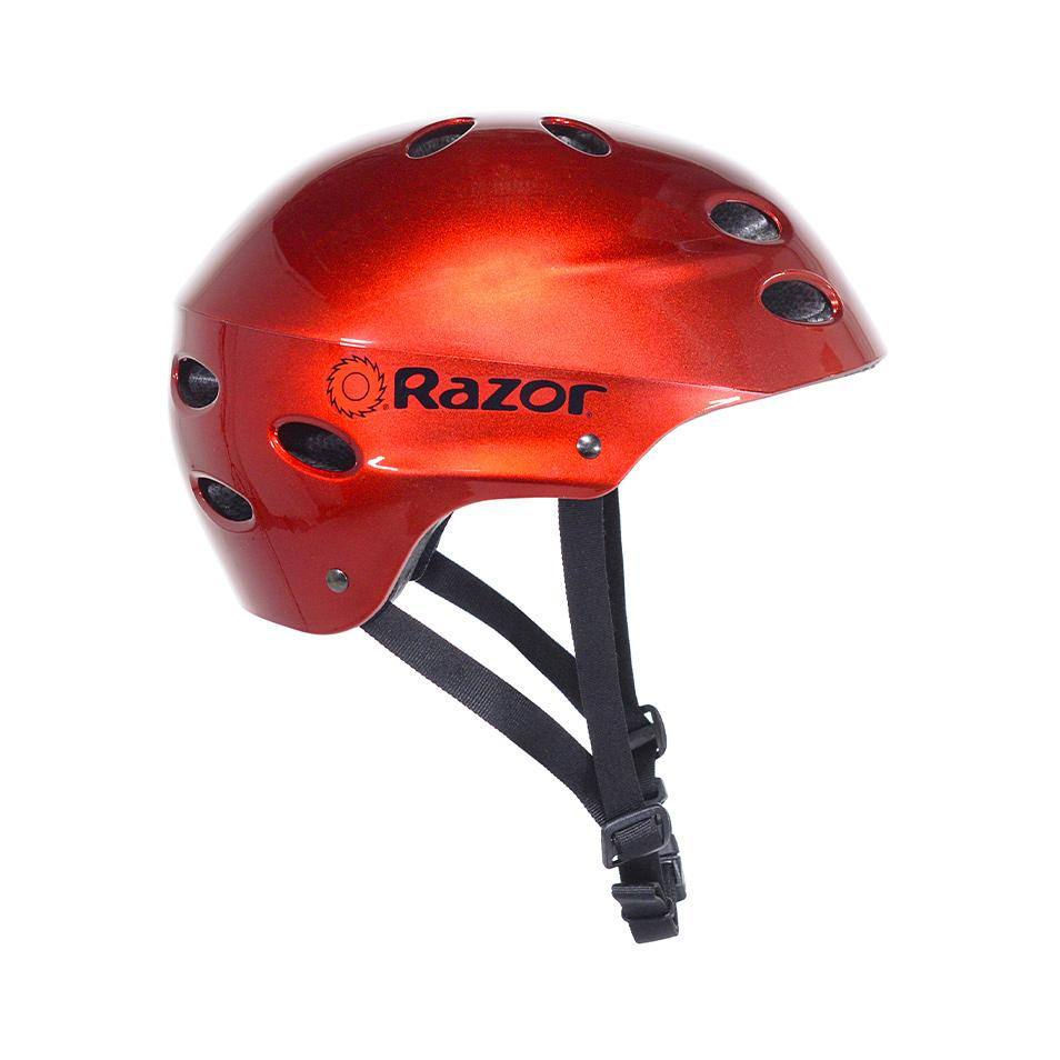 Razor Lucid Red Youth Helmet - Boy or Girl's