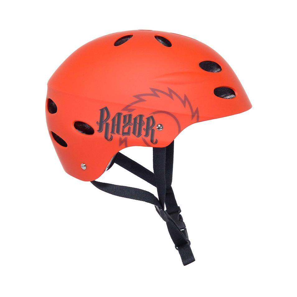 Razor Burnt Orange Helmet