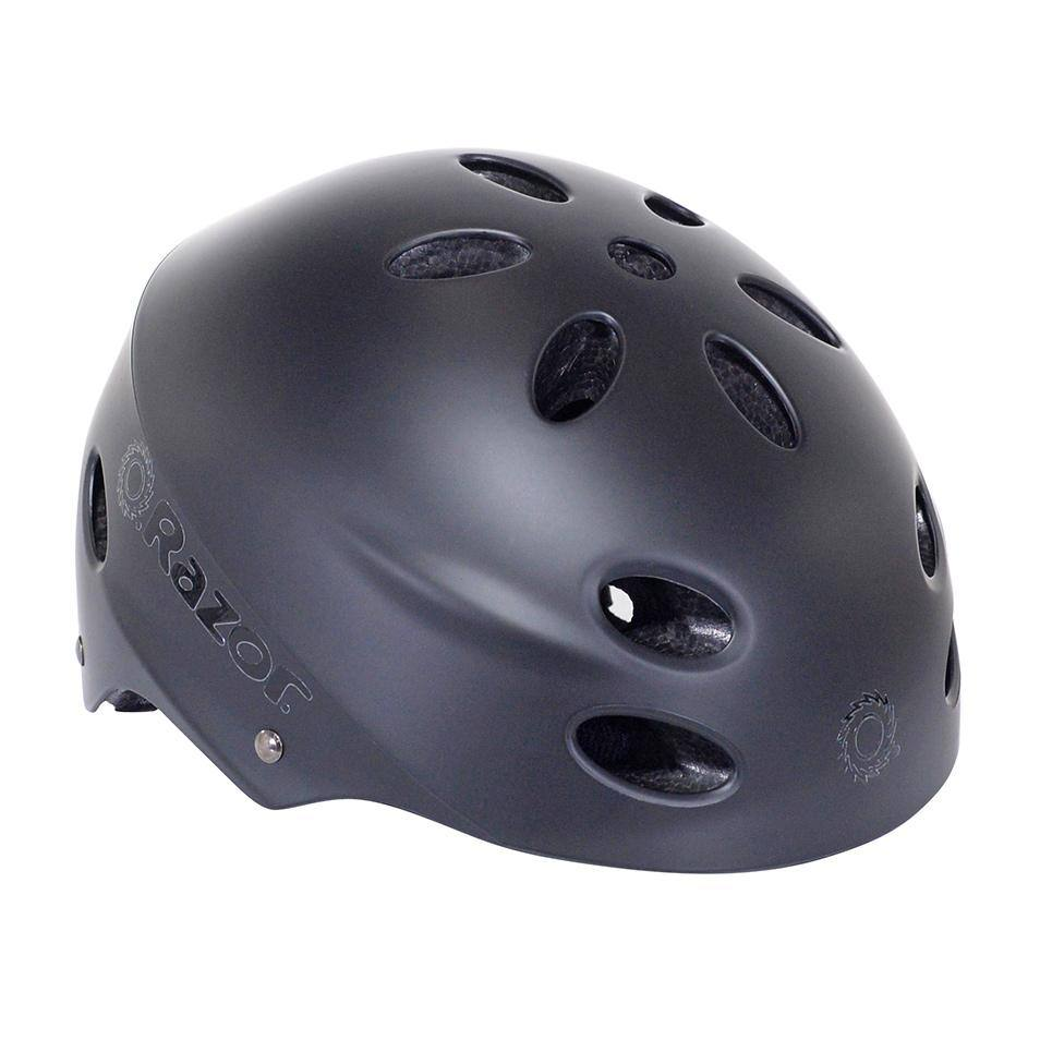 97958 Razor Satin Black Youth Helmet