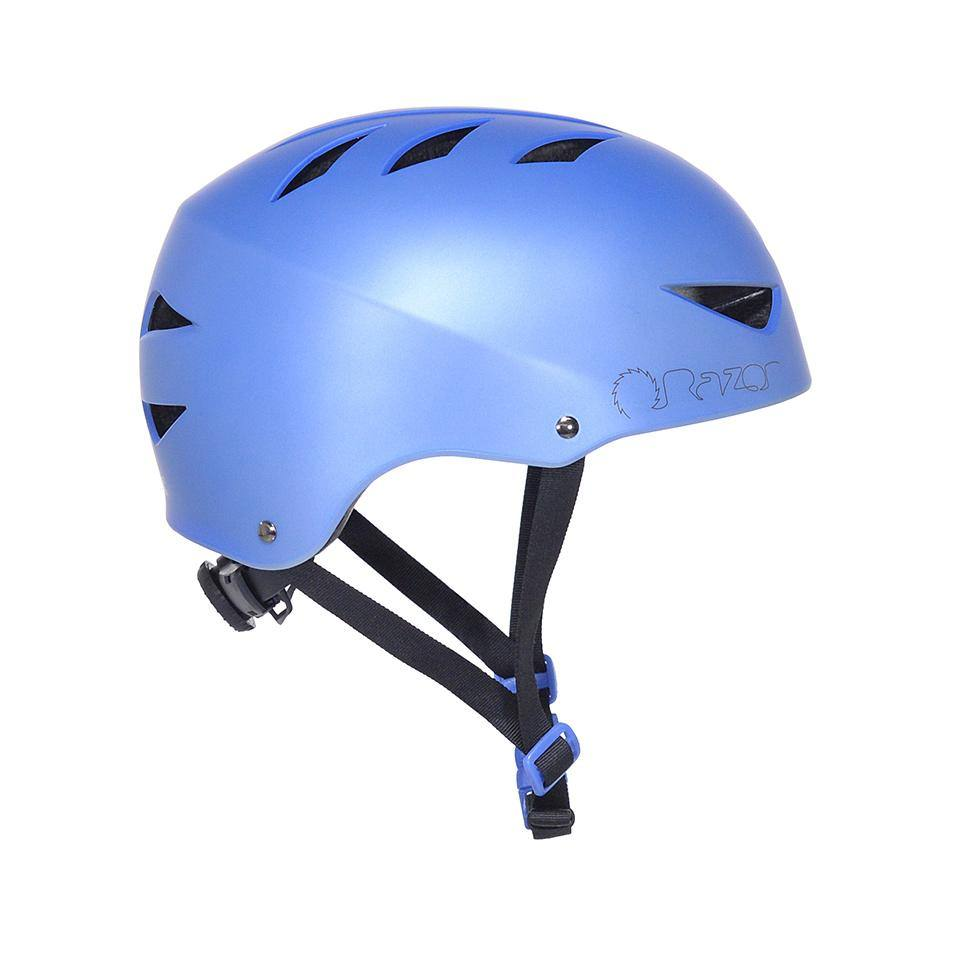 97864 Razor Satin Blueberry Adult Helmet