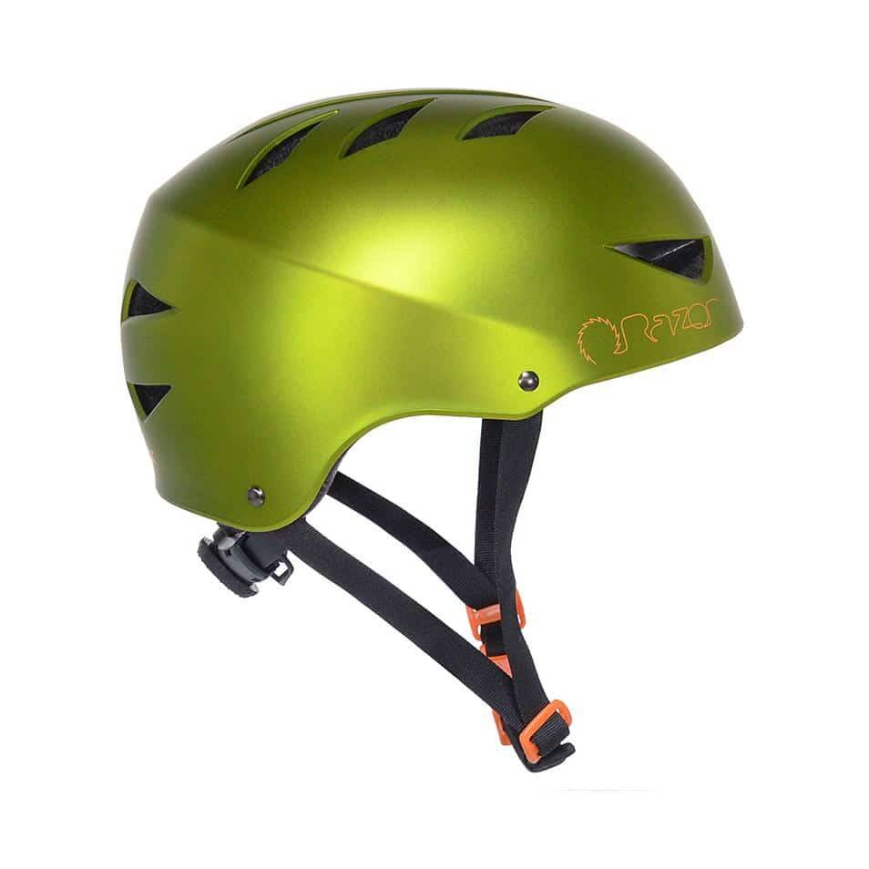 97861 Razor Satin Chaos Green Adult Helmet