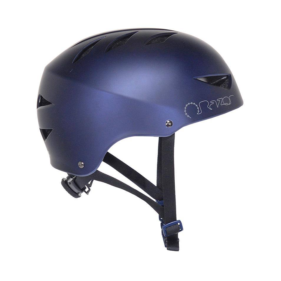 97862 Razor Satin Navy Blue Adult Helmet