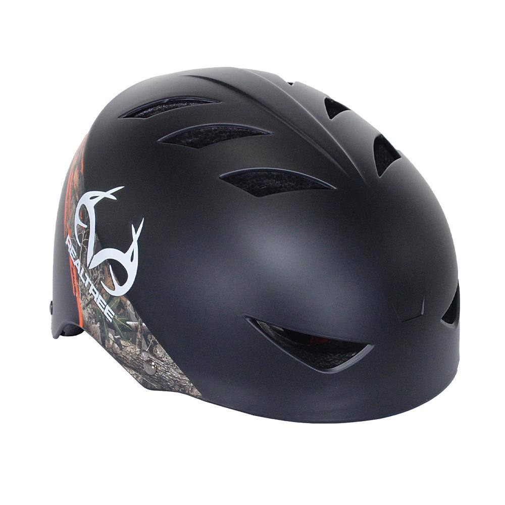 Child Helmet - Real Tree Black
