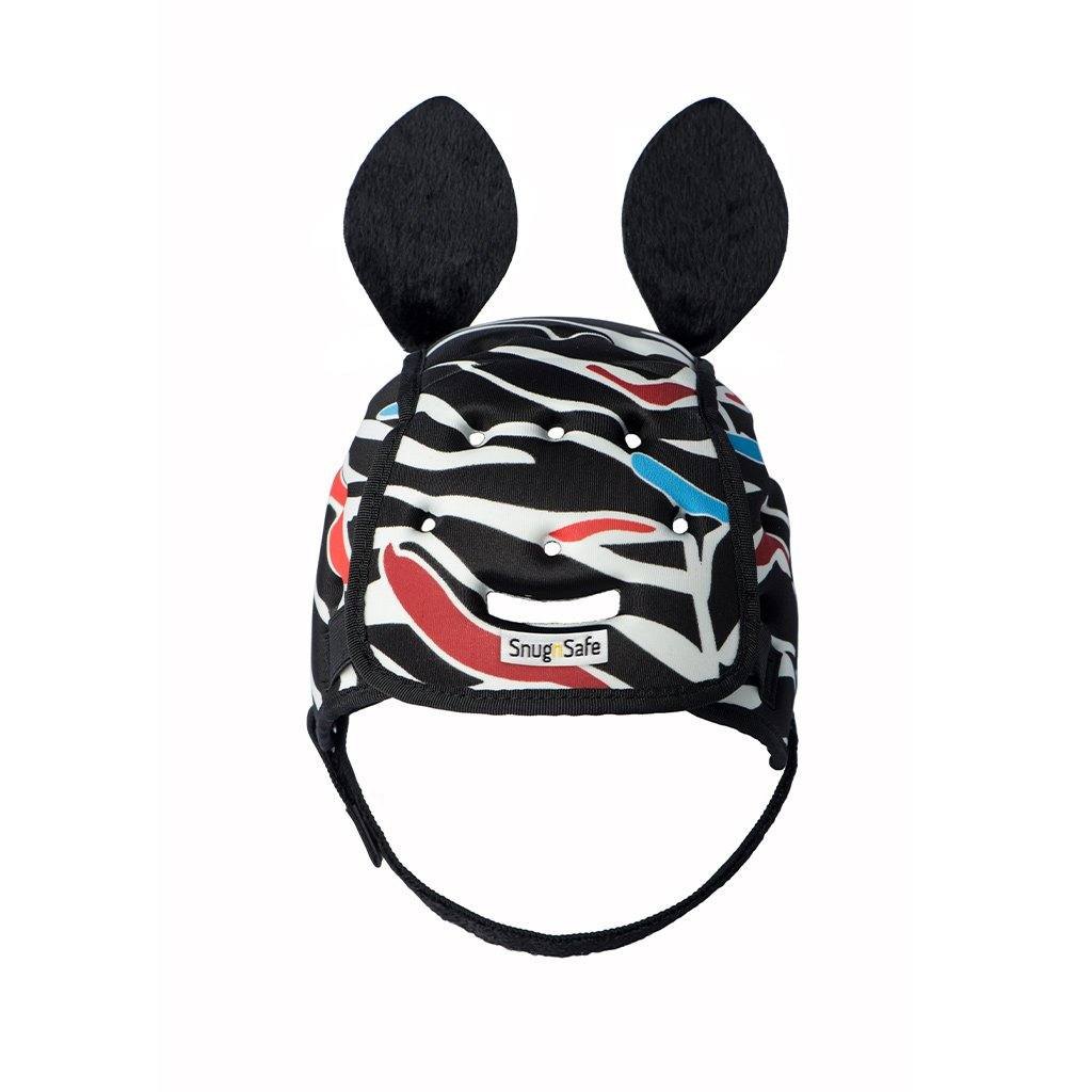 SnugnSafe Zebra Soft Child Helmet