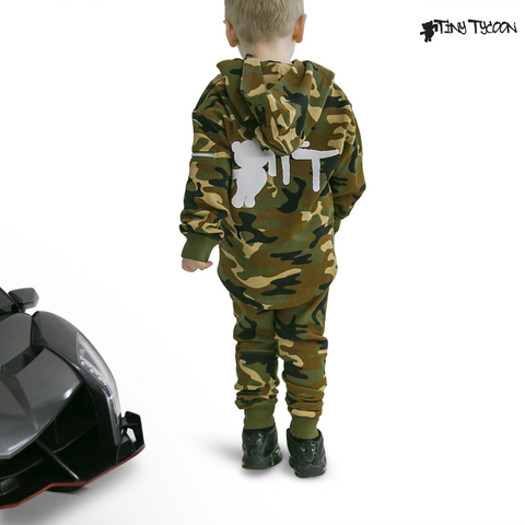 Tiny Tycoon - Ryder Mace Organic Essential Camo with Lambo