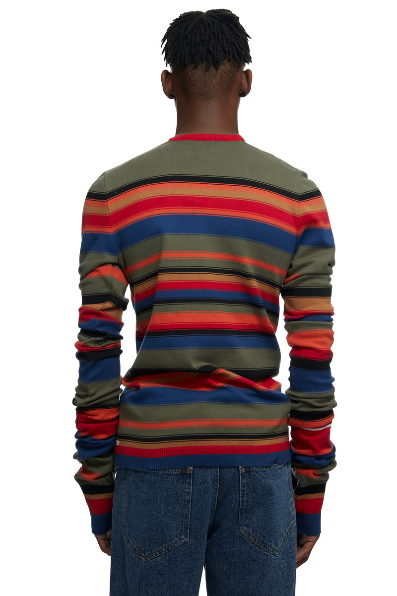 HTOWN, Y/PROJECT, Y/PROJECT MENSWEAR, HTOWN Y/PROJECT, Y/PROJECT MAXI SLEEVE SLIM SWEATER, MAXI SLEEVE SLIM SWEATER, Y/PROJECT SLIM SWEATER, Y/PROJECT MAXI SLEEVE SWEATER, Y/PROJECT SWEATER, Y/PROJECT MAXI SWEATER, MAXI SLEEVE , FRENCH DESIGNER, LONDON BOUTIQUE, SPRING SUMMER 2021, SS21, LUXURY DESIGNER, LUXURY FASHION, MEN'S LUXURY SWEATER, LUXURY SWEATER, LUXURY SLIM KNIT, LUXURY KNIT, SWEATER