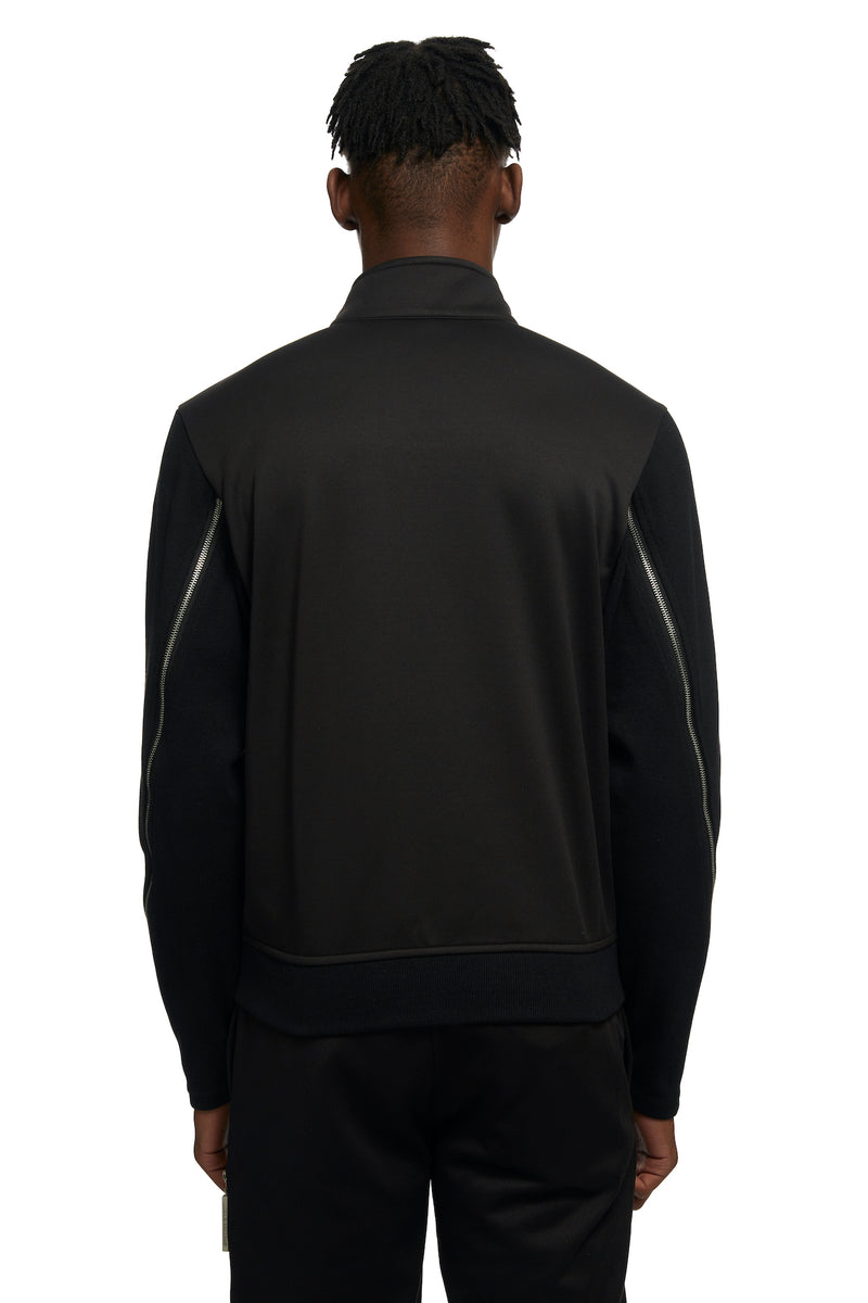 HTOWN, SPENCER BADU, SPENCER BADU MENSWEAR, HTOWN SPENCER BADU, SPENDER BADU TRACK JACKET, SPENDER BADU EMBROIDERED TRACK JACKET, TRACK JACKET, EMBROIDERED TRACK JACKET, SPENCER BADU JACKET, POLYESTER, JOGGERS, JOGGERS WITH WHITE STRIPE DETAIL, LONDON DESIGNER, LONDON BOUTIQUE, SPRING SUMMER 2021, SS21, LUXURY DESIGNER, LUXURY FASHION, MEN'S LUXURY TRACK JACKET, MEN'S LUXURY EMBROIDERED TRACK JACKET, LUXURY TRACK JACKET, LUXURY JACKET