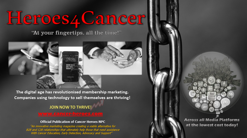 1. Heroes4Cancer Marketing Magazine