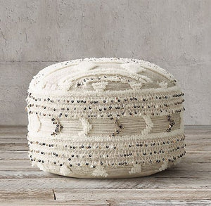 Moroccan Pouf - Wedding - Round