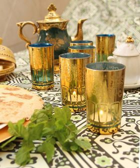 Moroccan Tea Assortment - Gold