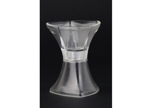 Jigger multiple transparente