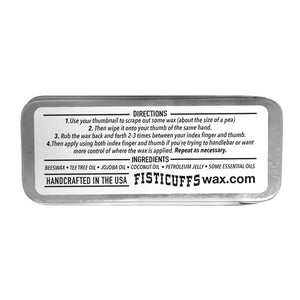 GBS Fisticuffs Mustach Wax Lavender Scent 15g