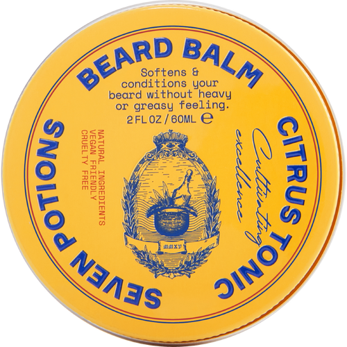 Seven Potions Beard Balm Citrus Tonic