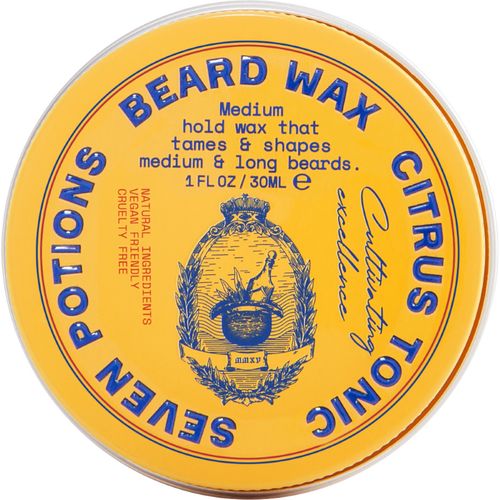 Seven Potions Beard Wax Citrus Tonic