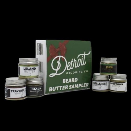 Detroit Grooming Co. Beard Butter Sampler