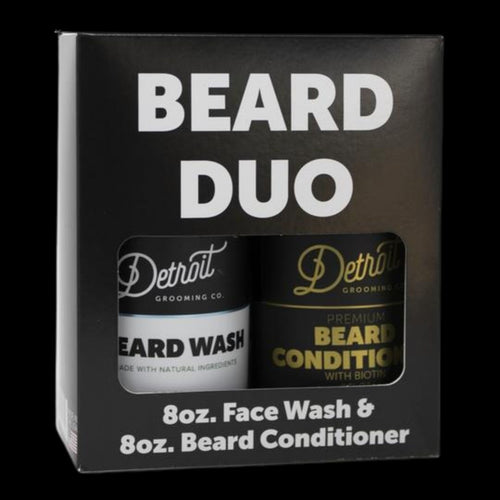 Detroit Grooming Beard Duo