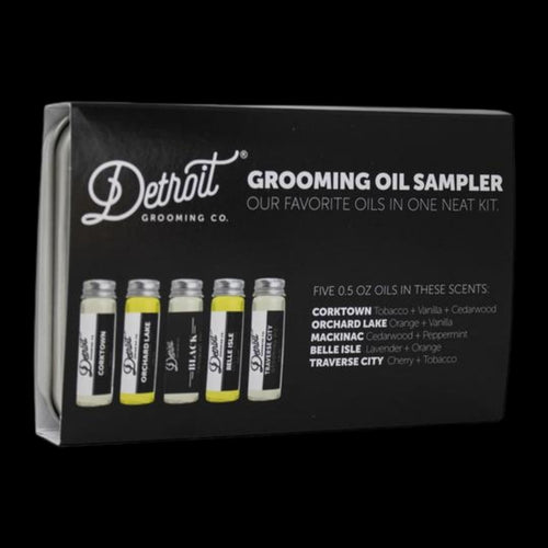 Detroit Grooming Co. Beard Oil Sample Kit