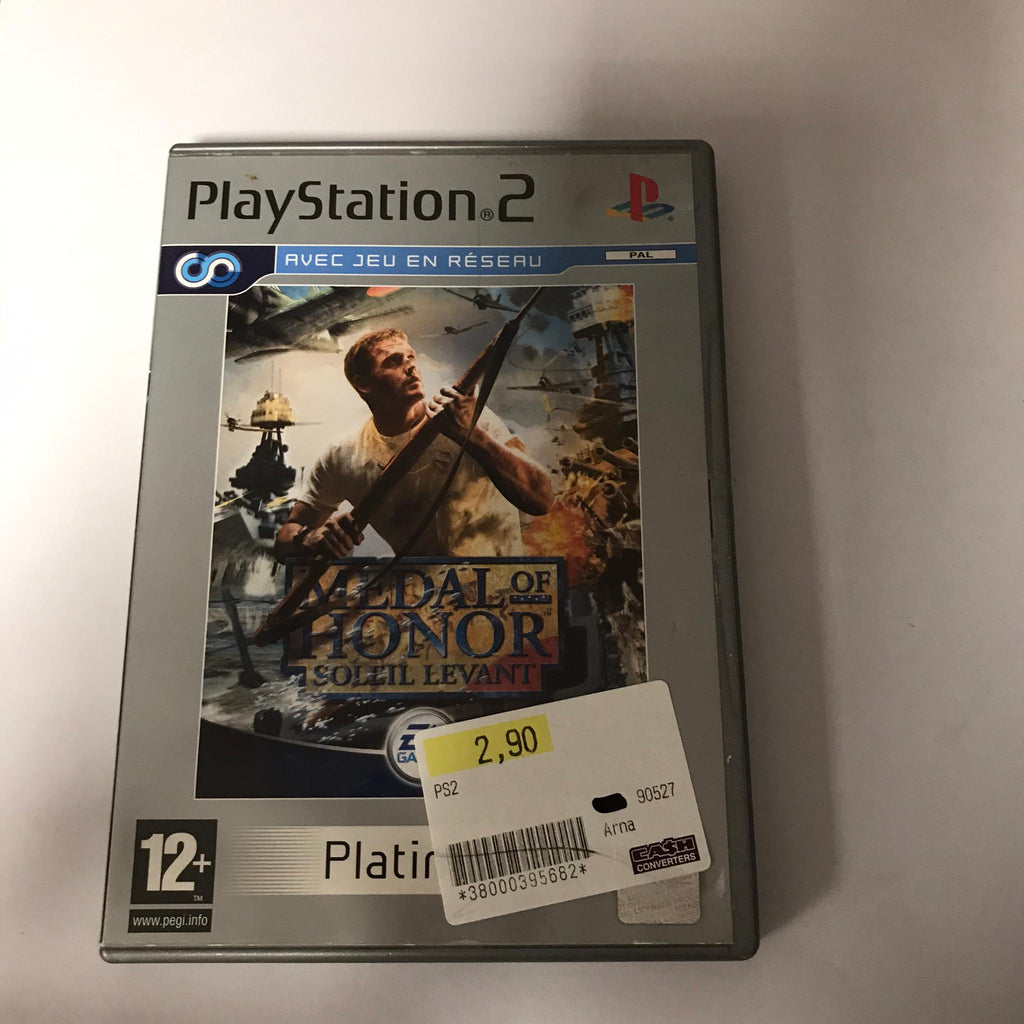 Jeu PS2 Medal of Honor Soleil Levant