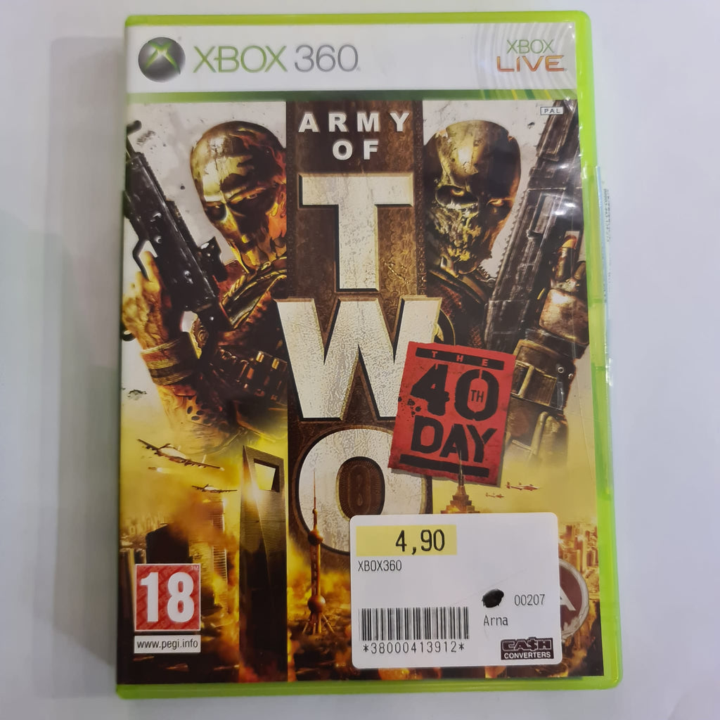 Jeu Xbox 360 Army of two
