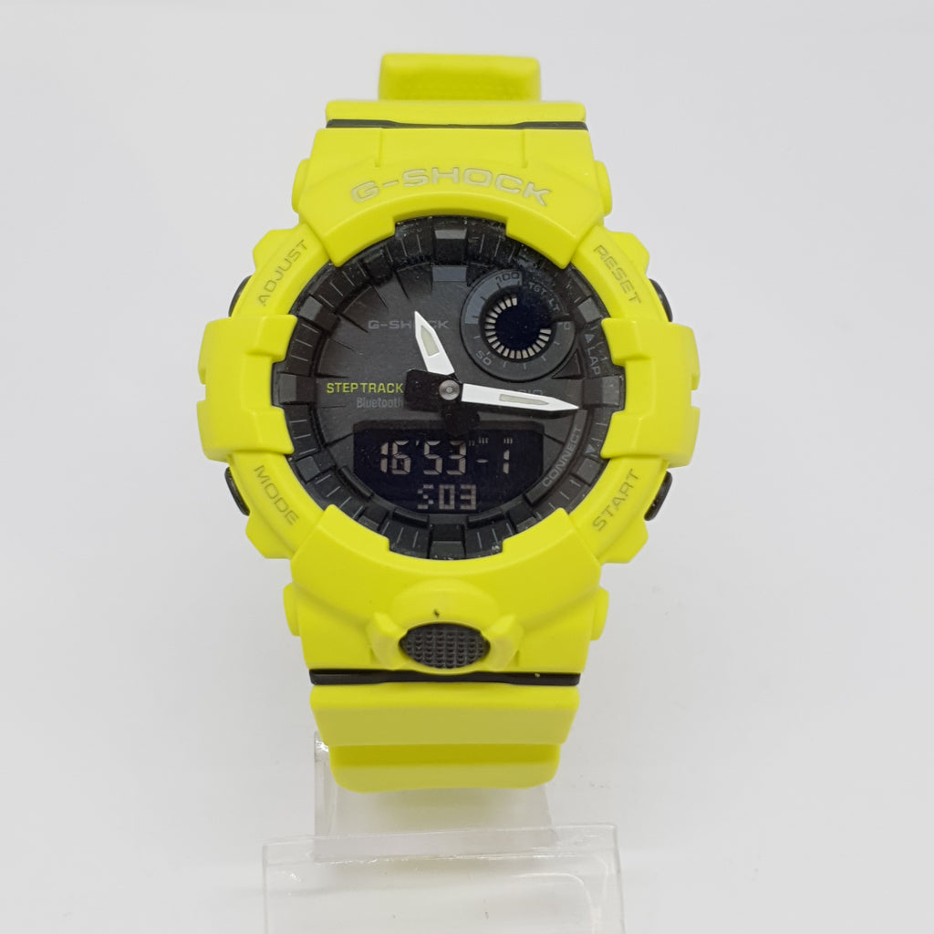 MONTRE CASIO G-SHOCK 5554 JAUNE