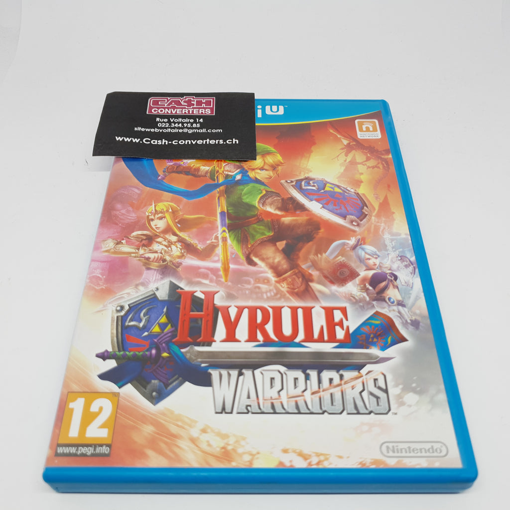 JEU WII U HYRULE WARRIORS