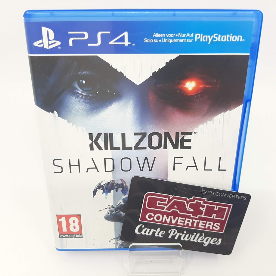 JEU PS4 KILL ZONE SHADOW FALL