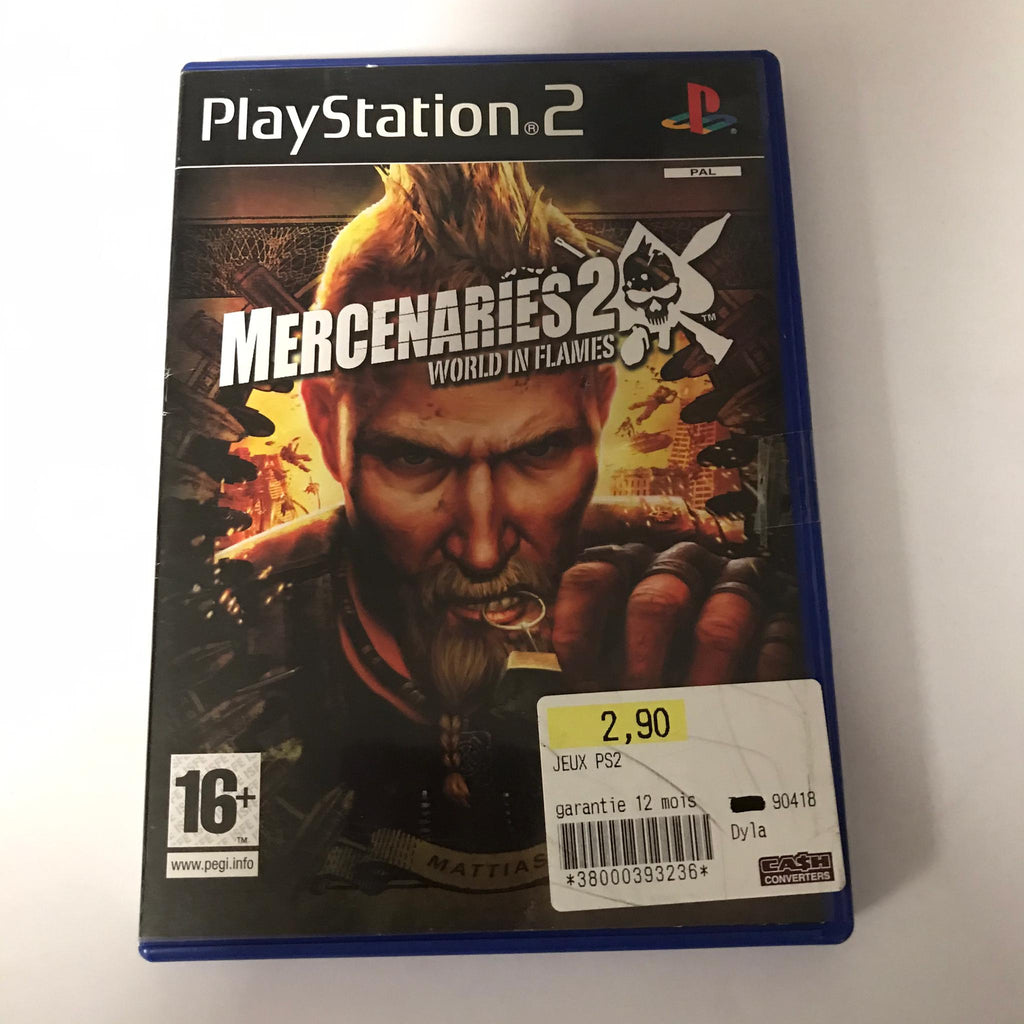 Jeu PS2 Mercenaries 2 World in Flames