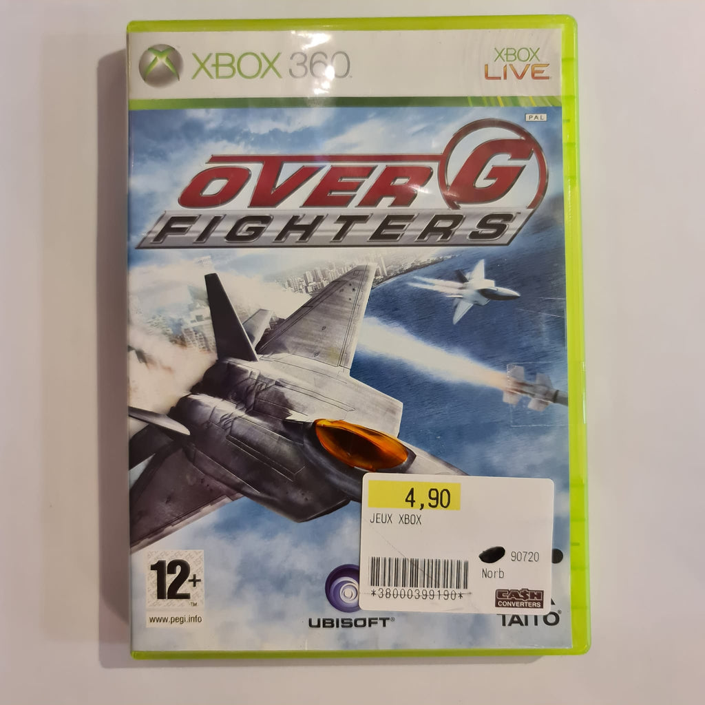 Jeu Xbox 360 Over G Fighters