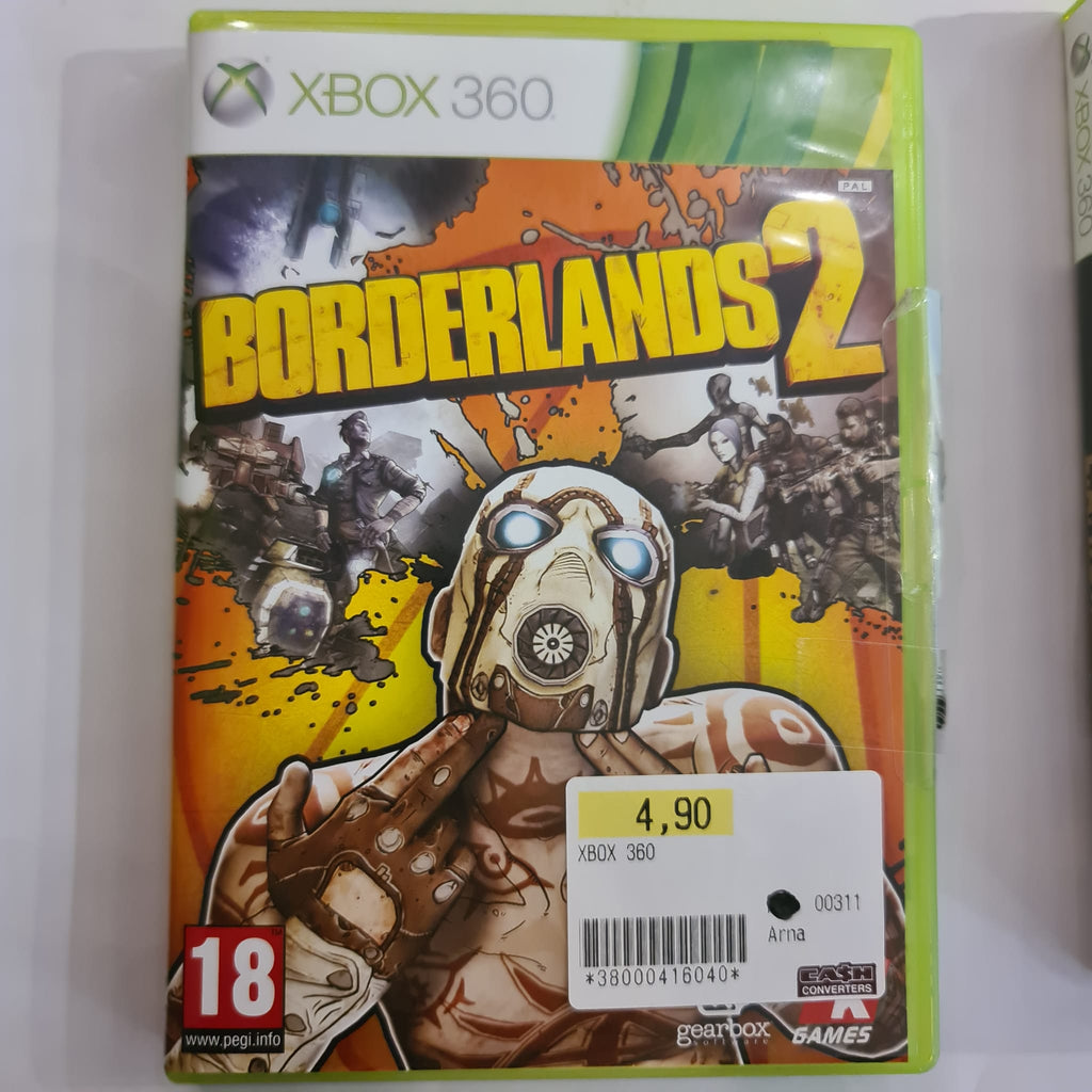 Jeu Xbox 360 Borderlands 2