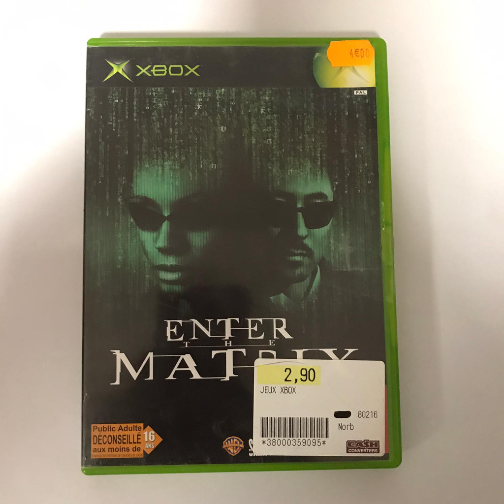 Jeu Xbox Enter the Matrix