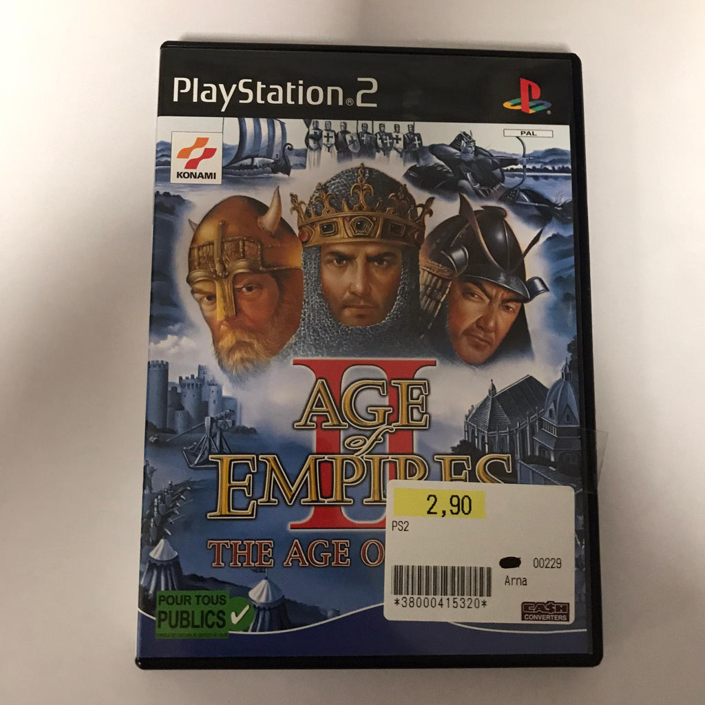Jeu PS2 Age of empire